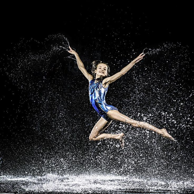 Behind the scenes at the GB Swimstars Synchronised Swimming Photoshoot
