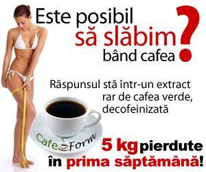 CafeForm – un site care promoveaza un produs de slabit cu rezultate probate. Acest produs are la baza cafeaua verde in stare pura, neprajta. www.mycashback.ro/magazin/867/cafeform