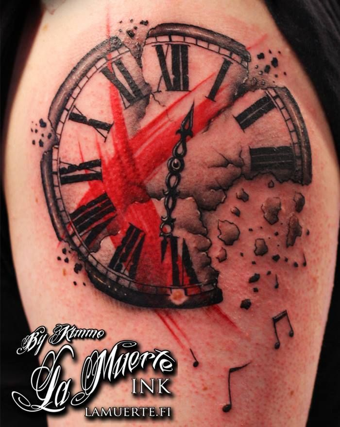 Souvent 19 best Polka Trash Tattoos images on Pinterest | Tattoo trash  IM49