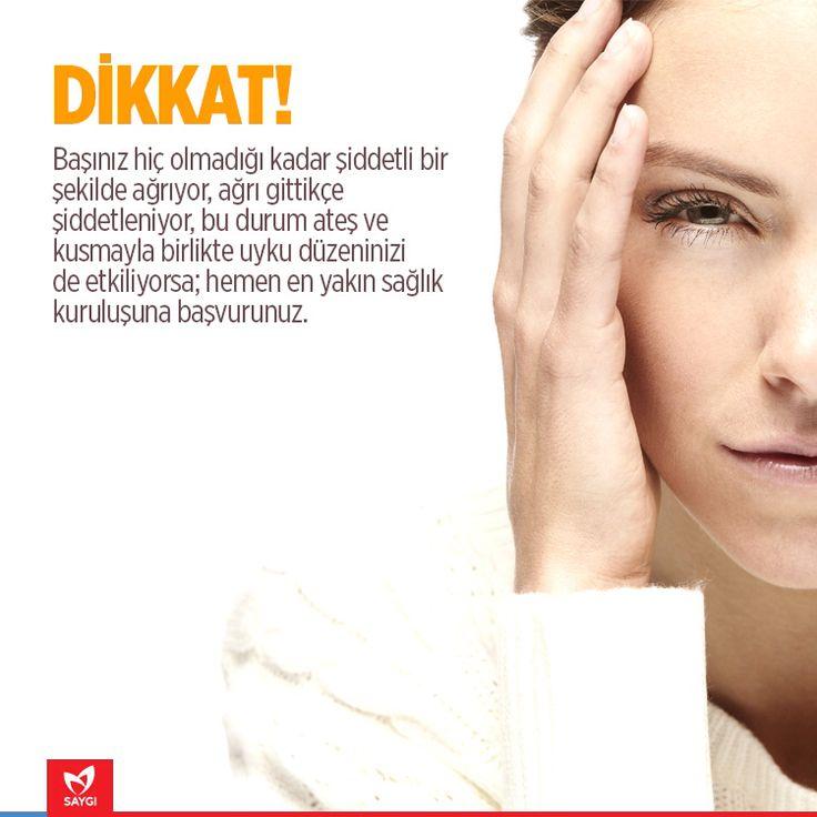 Baş ağrısı kaderiniz olmasın! #saygihastanesi #basagrisi #migren #saglik #saglikonerileri