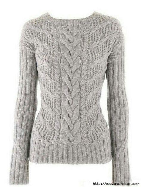 Hermoso suéter blanco