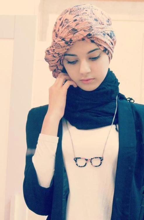 35 modern and simple hijab styles muslim fashion - Simple girls photo for facebook ...