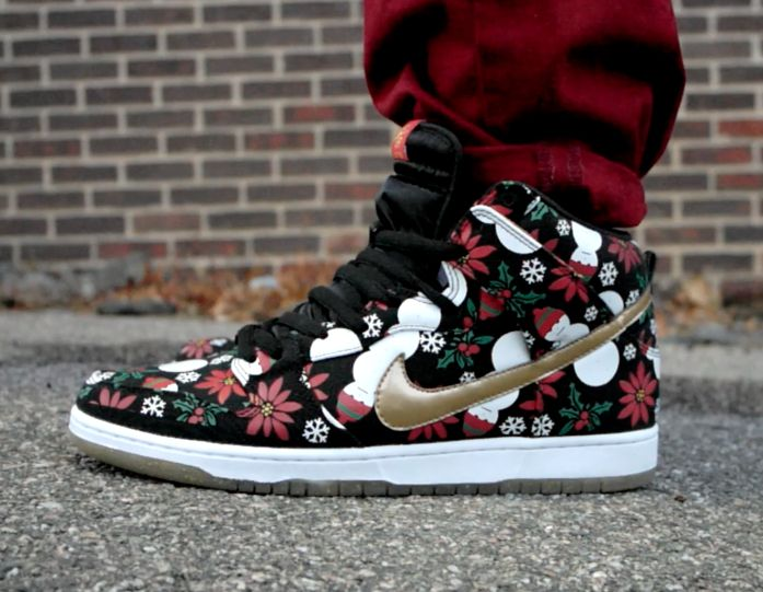 best authentic 4a01f d5ced nike dunks from step up 3 christmas