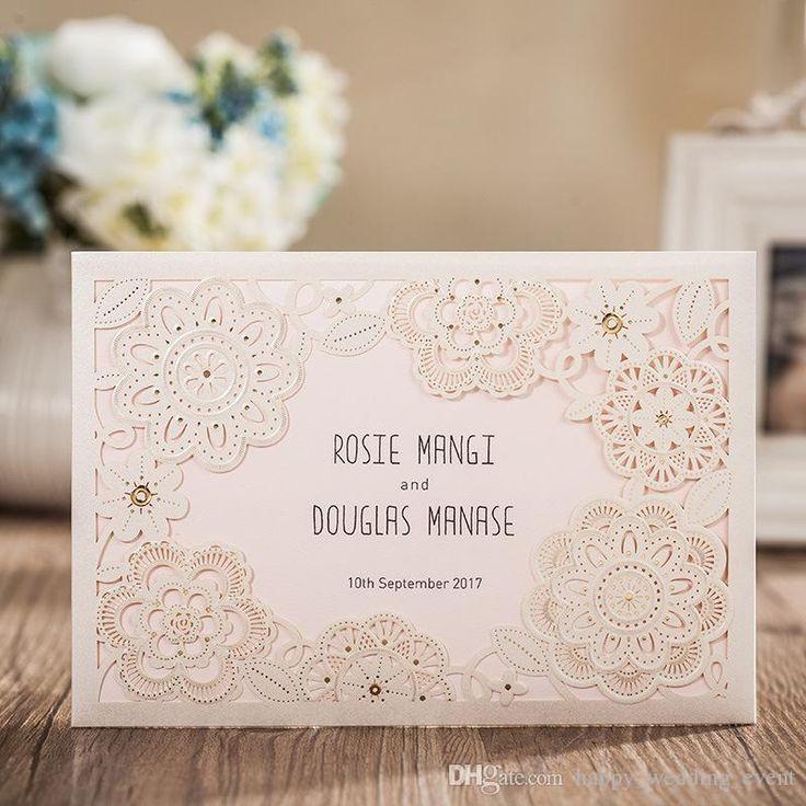 Elegant Wedding Invitation with RSVP card Response