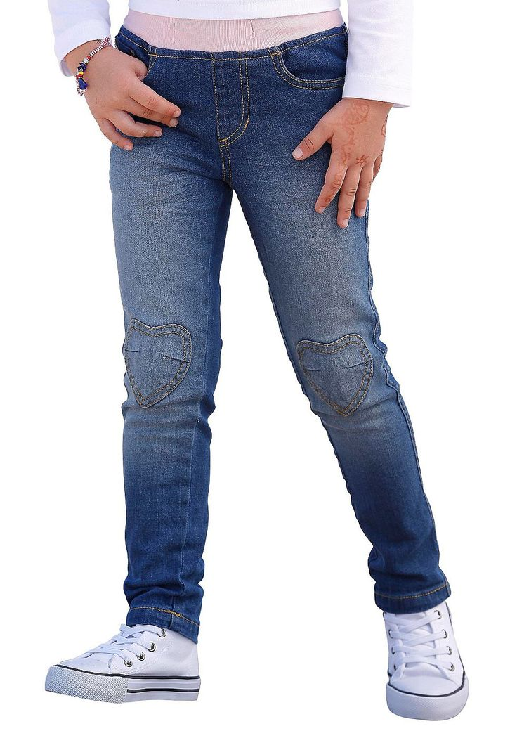 Produkttyp , Schlupfjeans, |Qualitätshinweise , Hautfreundlich Schadstoffgeprüft, |Materialzusammensetzung , Obermaterial: 98% Baumwolle, 2% Elasthan, |Material , Jeans, |Farbe , blue stone, |Passform , Schmale Form, |Beinform , schmal, |Beinlänge , lang, |Leibhöhe , normal, |Schnittdetails , Kniepatches, |Bund + Verschluss , Rundum-Gummizug, |Taschenanzahl , 5, |Vorder- und Seitentaschen , Ein...