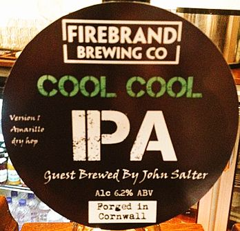 Guest brewed by one of our chefs, John Salter. Available at Firebrand Bar & Restaurant. Get here quick! http://www.perfectpint.co.uk/pubs/firebrand-bar-and-restaurant-launceston