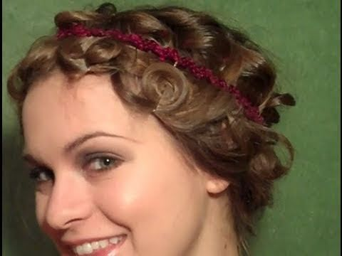 Tutorial on how to fake a pincurl bob if you have long hair!