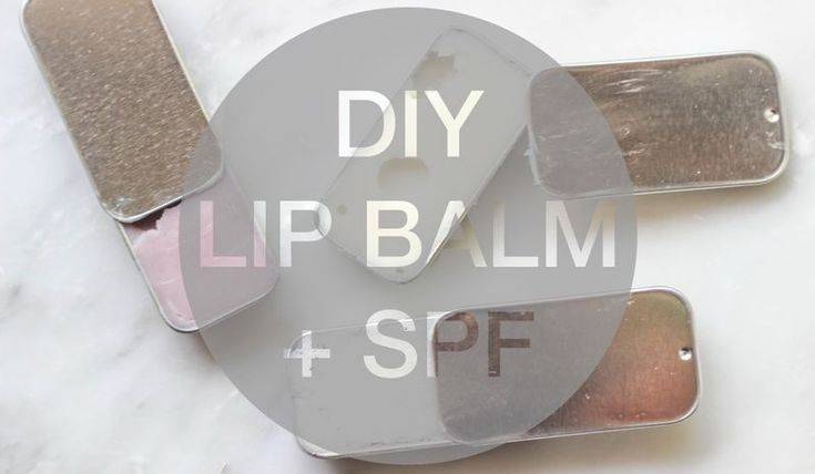 DIY Summer Lip Balm