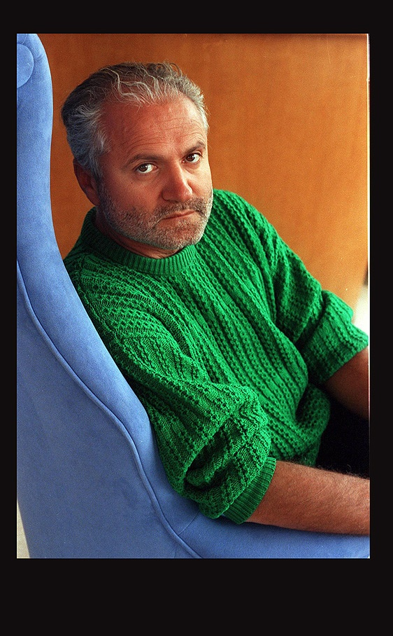 Gianni Versace, Architect and Fashion Designer, Born in 1946 Calabria, Italy - 1997