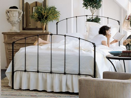 charles p rogers has the most beautiful wrought iron bedsthis is - Cast Iron Bed Frame