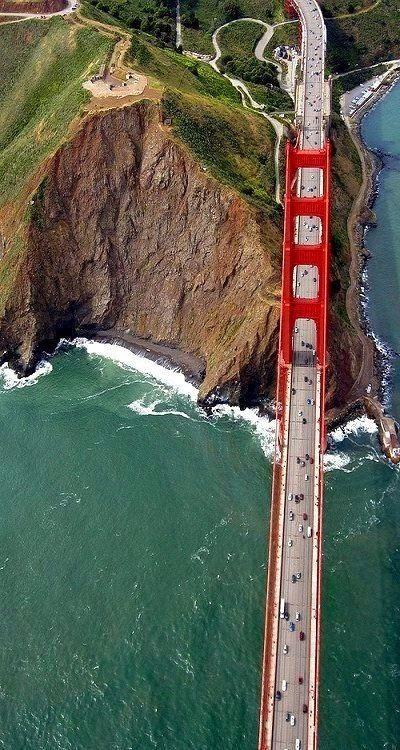 // The Golden Gate Bridge, San Francisco //