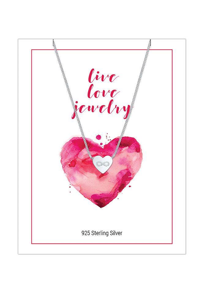 Elli Halskette »Herz Infinity Love Unendlich 925 Silber Amke« Jetzt bestellen unter: https://mode.ladendirekt.de/damen/schmuck/halsketten/silberketten/?uid=aae00c06-4262-54fd-abb6-80823fc51ea5&utm_source=pinterest&utm_medium=pin&utm_campaign=boards #schmuck #halsschmuck #halsketten #silberketten