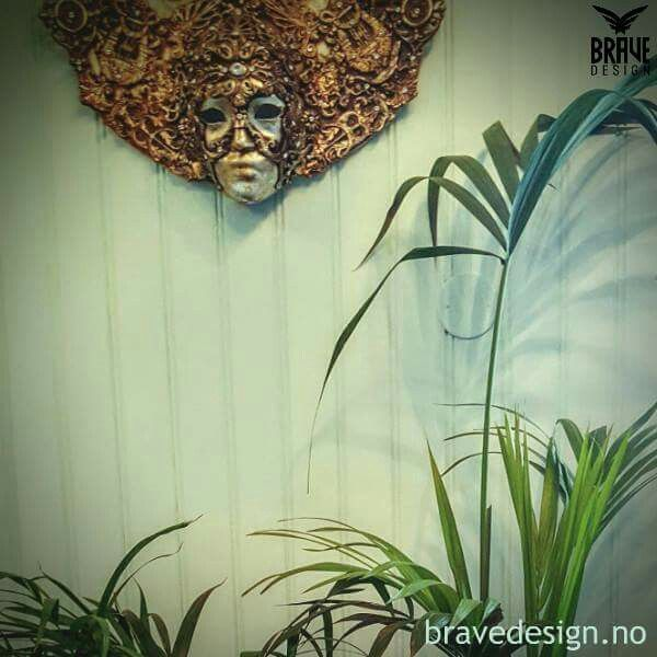 Wall painted in Vintro supreme color Honeydew. #vintrokalkmaling #vintrochalkpaint #kalkmaling #chalkpaint #vintrosupreme #vintro_paint #bravedesign #wallpaint #forhandler #nettbutikk #mint #mintgrønn #veggmaling #kalkmaltevegger
