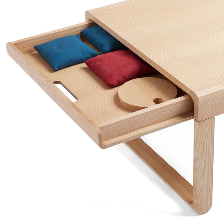 Small Coffee Tables At Game: Poppin's Take Aim Coffee Table Easily Converts For A Game