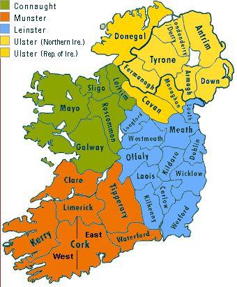 Tourist Destinations: Ireland - Travel Guide and Travel Info