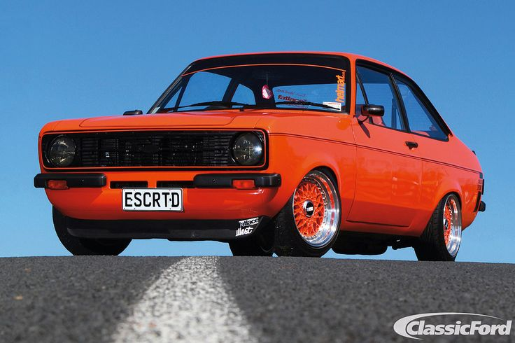 Classic Ford Of The Year 2013: Tyler Richardson's Mk2 Escort Sport