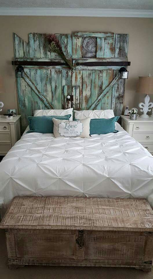 Teal Headboard Home Pinterest Bedroom Master Bedroom And