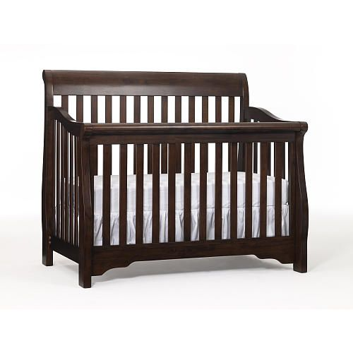 The Babi Italia Hamilton Convertible Crib in Chocolalate ...