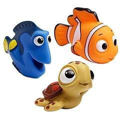 The First Years Finding Nemo Bath Squirt Toys