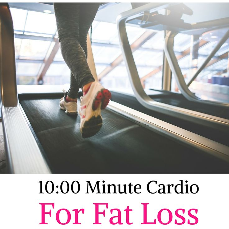 Check out the 10:00 minute way to do Cardio to boost Fat Loss without adding extra time to your workout!