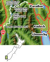 The 32 kilometre Routeburn Track is situated in the southwest of the New Zealand South Island and runs in between the lakes of Te Anau, Milford Road, and Wakatipu.  South Island 3 day walk 32 kilometres
