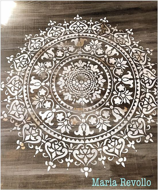 Mandala Painting On Wood