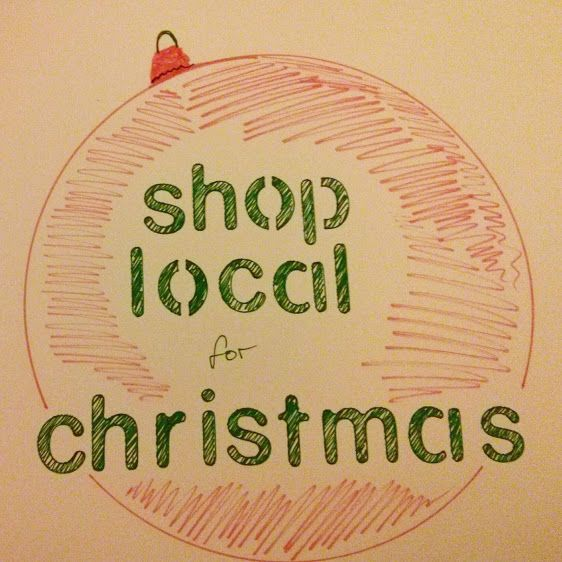 oh we do love to be...: shopping locally for Christmas shop local for Christmas local shops