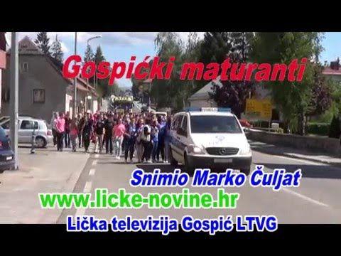 Gospićki maturanti © Marko Čuljat Lika press www.licčke-novine-hr Lička ...