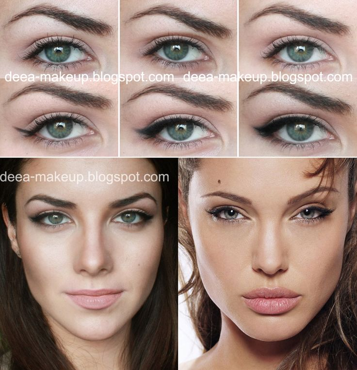 Angelina Jolie Inspired Make-up  http://deea-makeup.blogspot.ro/2012/03/angelina-jolie-inspired-codita-perfecta.html