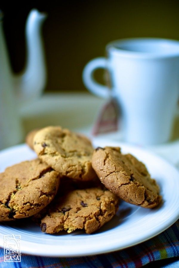 Cookies americani fatti in casa.