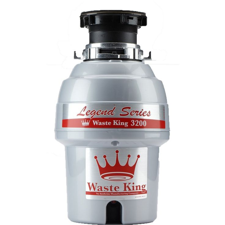 Waste King Legend Series 3/4 HP Continuous Feed Garbage Disposer – (L-3200)  This Continuous Feed Garbage Disposer is a great choice for those who love spending time in the kitchen. This garbage disposer enjoys extensive marketability throughout the world.  Waste King latest series, known as the Legend Series has some of the best garbage disposers suited for various purposes. This time, the brand had addressed all the major concerns and demands surrounding garbage disposers.  The 1/3 HP…