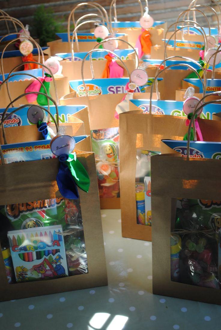 M s de 25 ideas fant sticas sobre bolsas para regalos en for Regalos para fiestas de cumpleanos infantiles