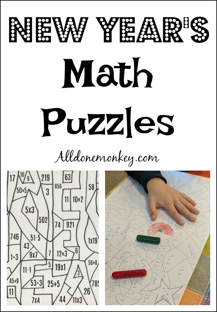 962 best math is fun images on pinterest activities for children keep learning fun over winter breaks with these new years math puzzles do the math ccuart Choice Image