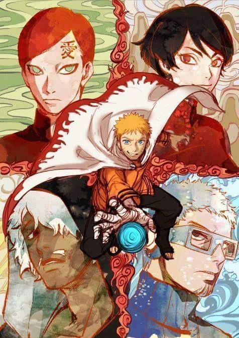 NARUTO SHIPPUDEN, The New 5 Kage, The Seventh Hokage (Naruto), The Fifth Kazekage (Gaara), The Fourth Tsuchikage (Kurotsuchi), The Sixth Mizukage (Chōjūrō), The Fifth Raikage (Darui)