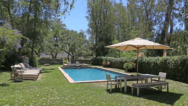 Inside Reese Witherspoon's Ojai Estate- The Pool