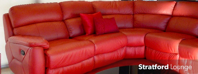 Nick Scali - Stratford Leather Lounge