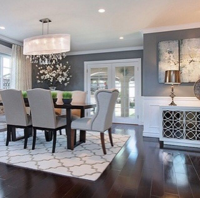 Top 10 Most Trendiest Dining Room Ideas For 2018 Dining Room Ideas Farmhouse Modern O Elegant Dining Room Farmhouse Dining Room Farmhouse Dining Rooms Decor