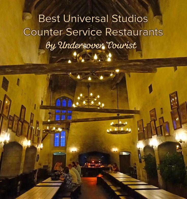 Best Universal Studios Counter Service Restaurants