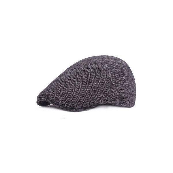 Cotton Lattice Plain Beret Cap (€7,69) ❤ liked on Polyvore featuring men's fashion, men's accessories, men's hats, black, mens caps, mens caps and hats, mens beret cap and mens hats