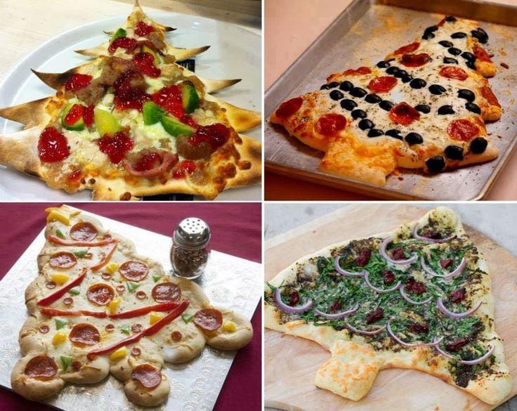 #Новогодняя_пицца