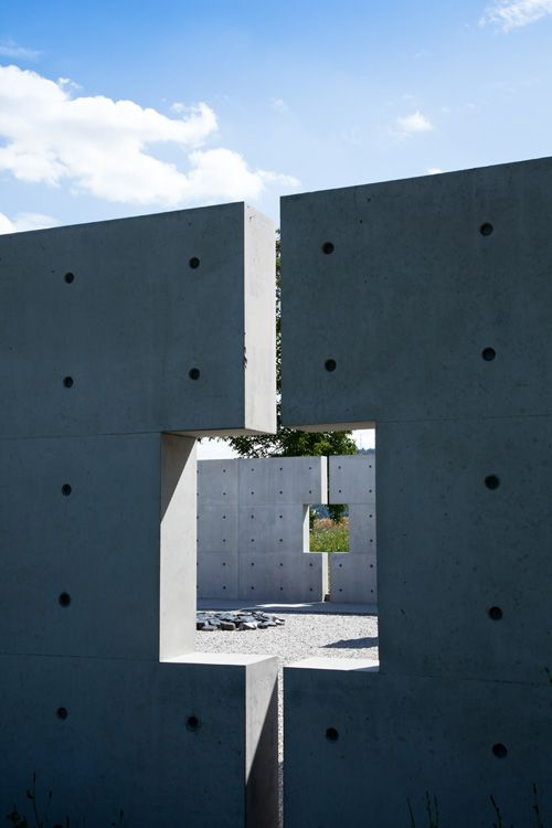 Tadao Ando - Stone sculpture museum, Bad Münster am Stein-Ebernburg 2010