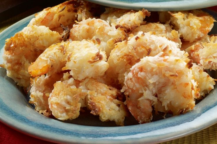 Yes! Healthy Coconut Shrimp Recipe Simply Delicious and Gluten-Free! I love coconut and I love shrimp! So, of course I created healthy Coconut Shrimp recipe and included it in my Gulf Coast Favorites cookbook.How did I turn this classic fried shrimp recipe into a healthy easy recipe? First, my oven baked coconut