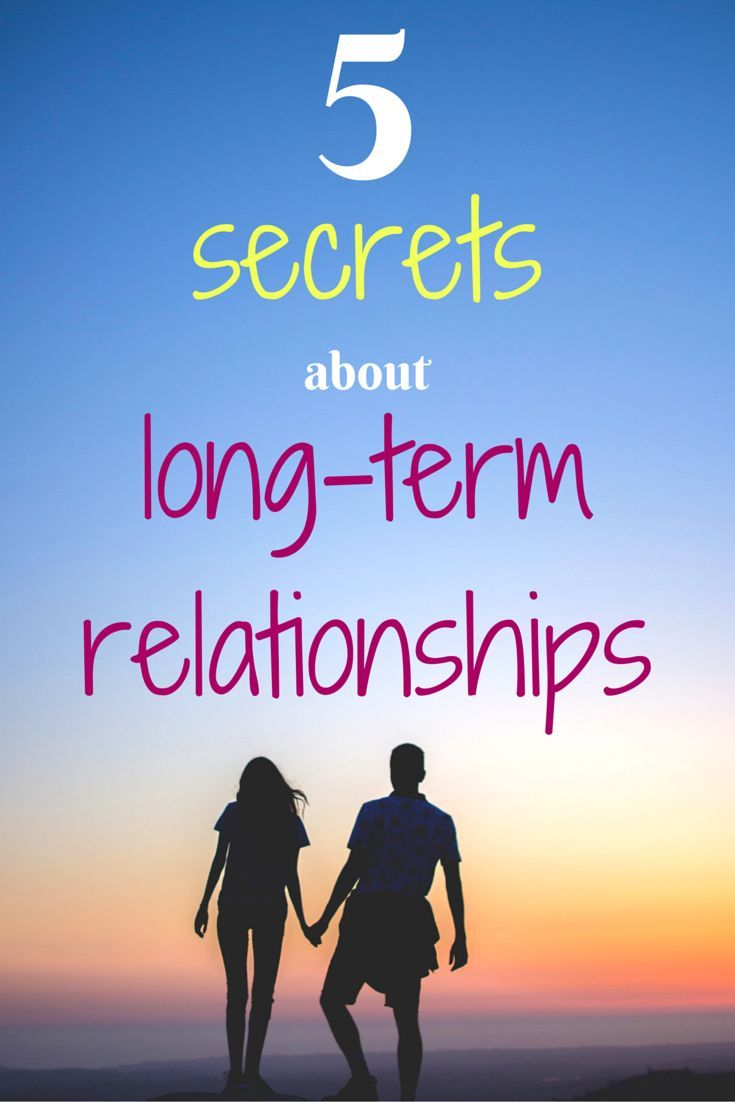 There are some things you only realize about long term relationships after you've been in them for some time. Find out 5 secrets about long term relationships in this post. Are you ing a long term relationship? What secrets do you have to share? Pin to yo