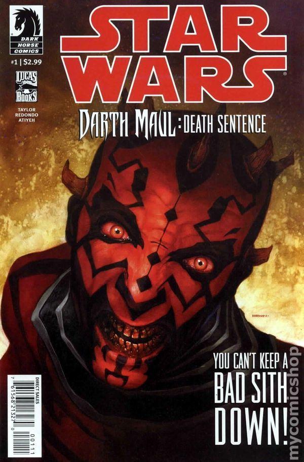 Star Wars Darth Maul Death Sentence (2012 Dark Horse) 1