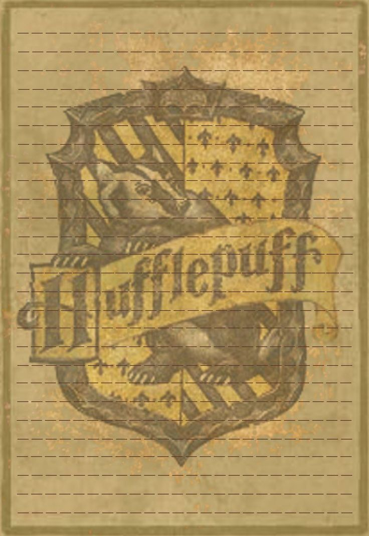 Hufflepuff Stationery Option3 by Sinome-Rae on DeviantArt