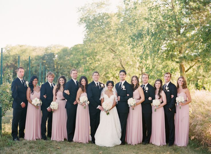 Photography: Jen Lynne Photography - jenlynnephotography.net Wedding Planner: Michelle Durpetti Events - durpettievents.com   Read More on SMP: http://www.stylemepretty.com/2014/06/20/blush-gold-orchard-wedding/