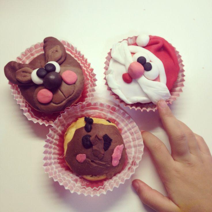 Piccoli muffin natalizi