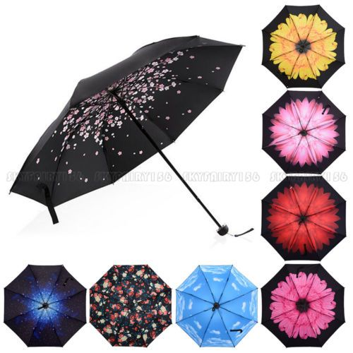 50-Anti-UV-Sun-Rain-Protection-Windproof-Flower-Parasols-3-Folding-Umbrella