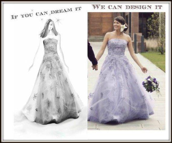 18+ Design your own wedding dress ideas ideas