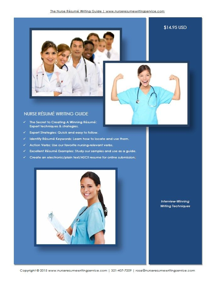 Expert Nurse Resume Writing Guide clinic jobs Pinterest - nurse resume writing service